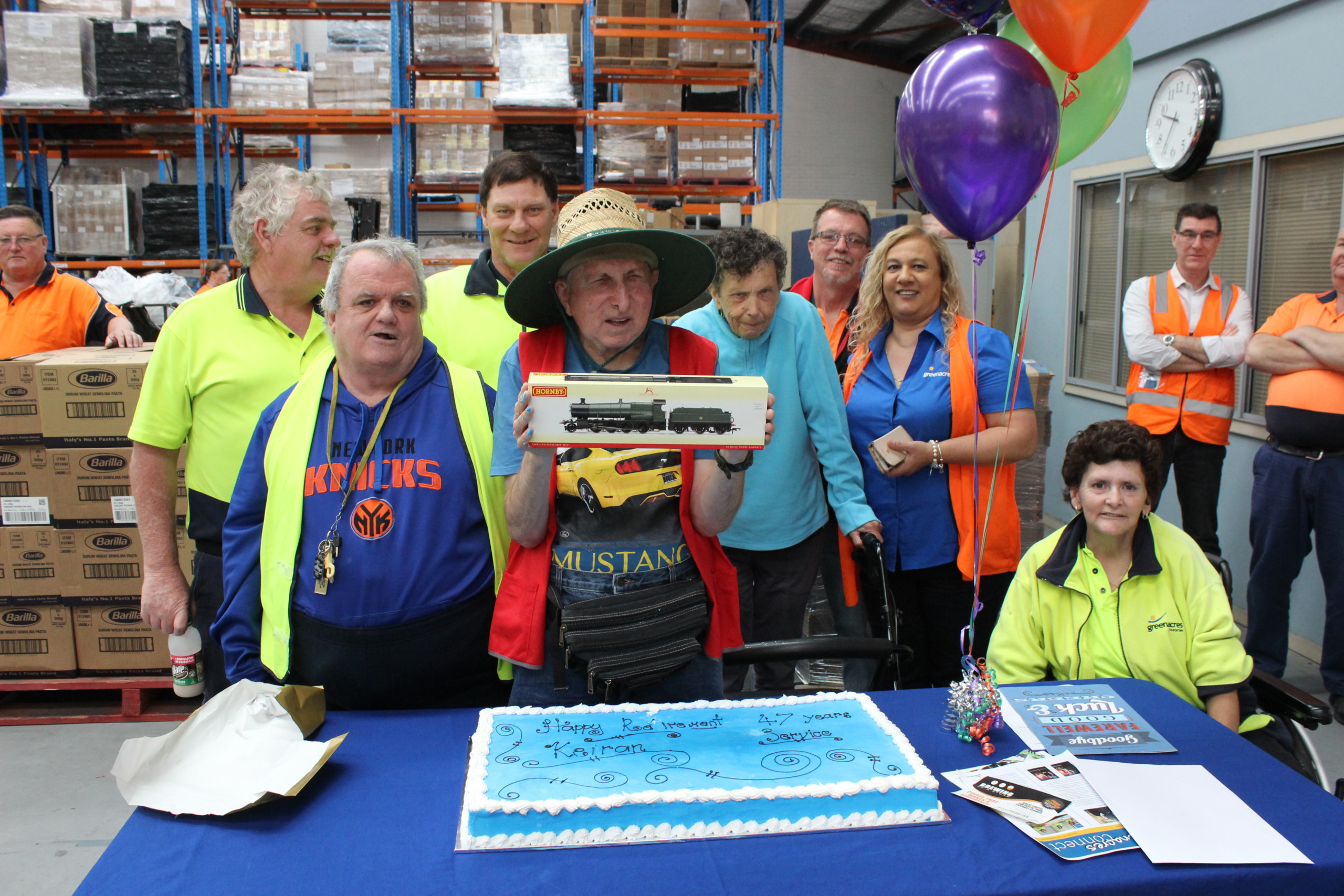 Incredible 47 Years for Keiran