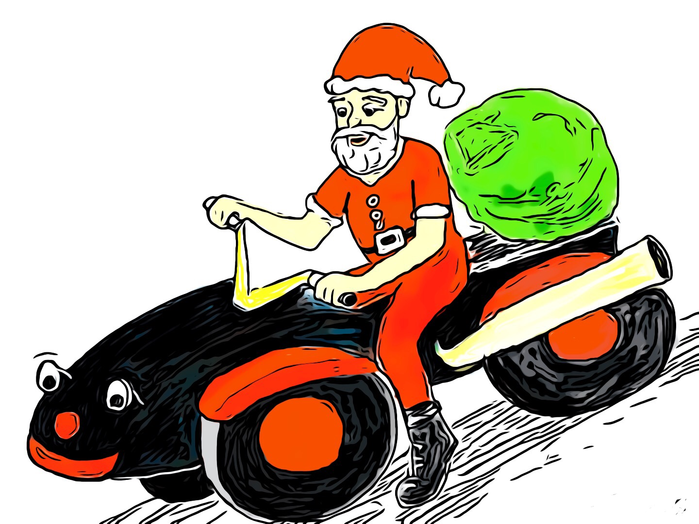 Santa visits Figtree on December 21st 2pm to 5pm